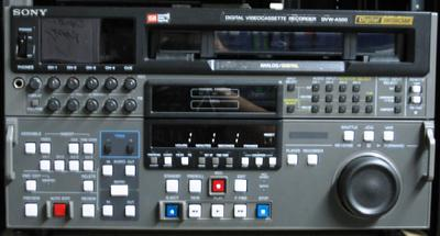 picture of SONY DVW-A500